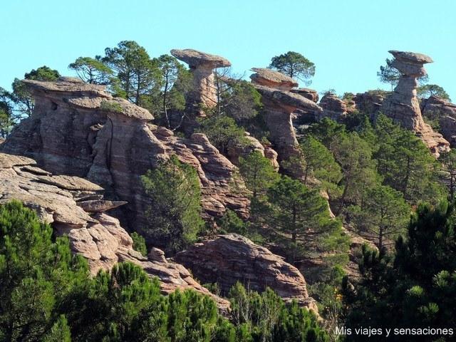 Las Corbeteras, un bosque de piedra en la Serranía de Cuenca - Mis viajes y  sensaciones